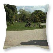Grounds For Sculpture Throw Pillow
