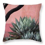 Group Of Cacti Throw Pillow