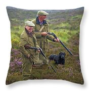 Grousing Scotland Nbr 1 Throw Pillow