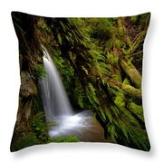 Grove Of Life Throw Pillow by Mike Reid
