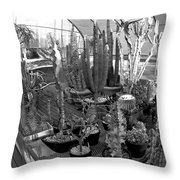 Growing Danger Throw Pillow