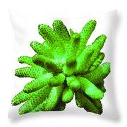 Growing Green Throw Pillow
