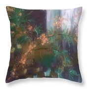 Growing In Layers Throw Pillow