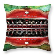Growling Grill Throw Pillow