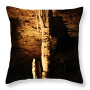 Growth - Cave 5 Throw Pillow