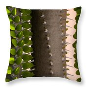 Growth Contrast 2 Throw Pillow