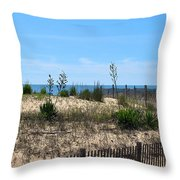 Growth Of The Sea Throw Pillow