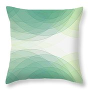 Growth Semi Circle Background Horizontal Throw Pillow