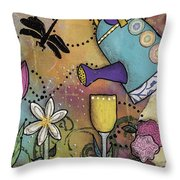 Growth Spurt Throw Pillow