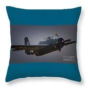 Grumman Tbf Avenger No.15 Throw Pillow