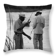 Grumpy Old Men Throw Pillow
