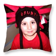 Grumpy Throw Pillow