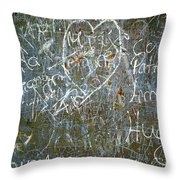 Grunge Background IIi Throw Pillow