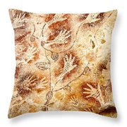 Gua Tewet - Tree Of Life Throw Pillow