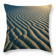 Guadalupe Dunes Throw Pillow