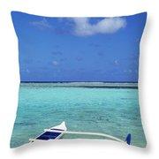 Guam, Agana Bay Throw Pillow