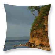 Guam- Keeping Watch Throw Pillow
