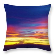 Guam Sunrise I 10/2015 Throw Pillow