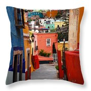 Guanajuato Lane Throw Pillow