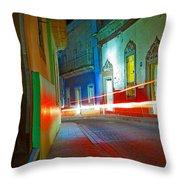 Guanajuato Night Throw Pillow