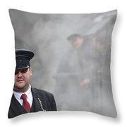 Guard  Throw Pillow