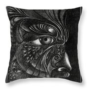 Guardian Cherub Throw Pillow