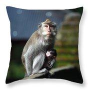 Guardian Mother 2 Throw Pillow