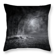 Guardian Of The Forest II Throw Pillow