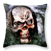 Guardian Of The Forest2 Throw Pillow