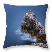 Guardian Of The Sea Throw Pillow