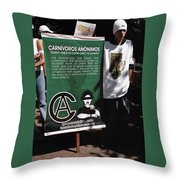 Guardian Of The Spoon Throw Pillow