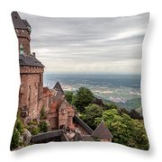 Guardian Of The Valley Throw Pillow