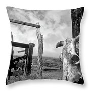 Guardian Spirit  Throw Pillow