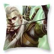 Guardians Of Middle-earth Throw Pillow