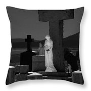 Guardians Of Souls Throw Pillow