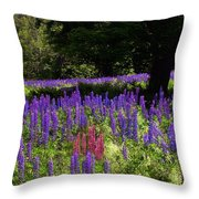 Guardian Of The Lupine Throw Pillow