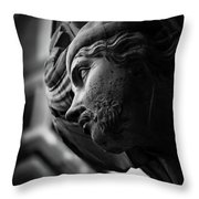 Guarding St. Mark's Tower Throw Pillow