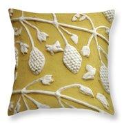 Guatemala Floral Detail Throw Pillow