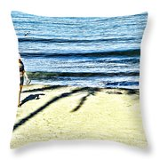 Guayabitos 1 Throw Pillow