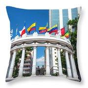 Guayaquil Rotonda Throw Pillow