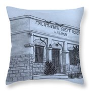 Guest House  Throw Pillow