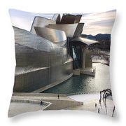 Guggenheim Bilbao Museum Throw Pillow
