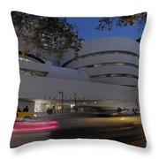 Guggenheim Museum New York  Throw Pillow