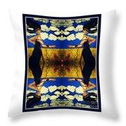 Guiar-symmetrical Art Throw Pillow