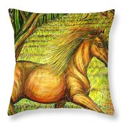 Guidance-out Of The Woods Throw Pillow