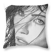 Guilty Pleasure Throw Pillow