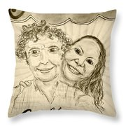 Guinevere's Cafe And Bistro Throw Pillow