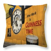 Guinness Beer 2 Throw Pillow