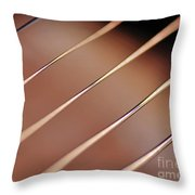 Guitar Abstract 2 Throw Pillow