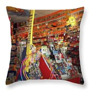 Guitar Dream 2 Throw Pillow